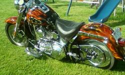 $14,500 OBO 2004 Harley Custom Fatboy Cycle chromed to the