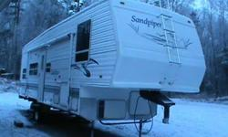 $14,500 Sandpiper By Forest River FifthWheel Toyhauler