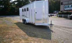$14,595 New 2012 Twi-Lite Trailers 3 Horse Bumper Pull with