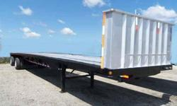 $14,750 Used 2002 Wabash Flatbed trailer for sale.