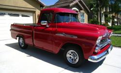 $14,900 1958 Chevrolet Apache Fleetside Pickup