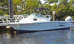 $14,900 2001 Hydra Sport 230 23 Foot Sea Horse Walk Around