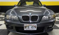 $14,900 2001 Steel Gray Metallic BMW Z3