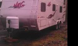 $14,995 2007 Keystone NRG Front Bedroom Toy Hauler, With