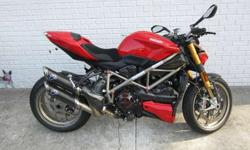 $14,998 2010 Ducati Streetfighter S with EXTRAS