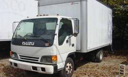 14' Box Truck with liftgate, 1999 Isuzu NPR has rebuilt