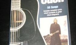 $14 Johnny Cash Guitar Chord Songbook