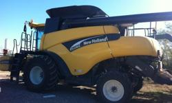 $150,000 2005 New Holland CR970 Combine