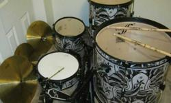 $150 1st Act Drums Complete Set Good Condition [phone