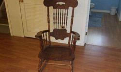 $150 ANTIQUE ROCKING CHAIR Excellent cond, No broken