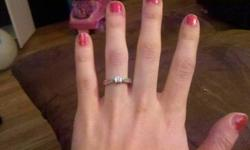 $150 Beautiful promise/engagement ring!!!
