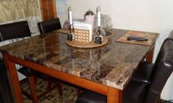 $150 Dining Room Table & Chairs