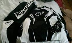 $150 Fox Motocross Racing gear HC/180 jersey, pants and