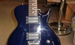 $150 Ibanez Gio electric guitar... Blue