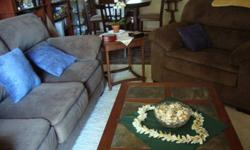 $150 Like New Granite/Cherrywood/Wrought Iron Coffee Table