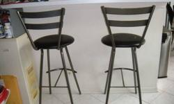 $150 Metal/Leather Bar stool