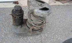$150 Military Truck Winch (Sandy)