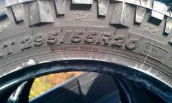 $150 Nitto Trail Grappler M/T 295-55-20 (Brandenburg)