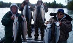 $150 No Little Su Silvers, Kenai River Silver Salmon