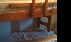 $150 OBO solid wood bunk beds