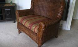 $150 Oversized Wicker Indoor/Outdoor Chair