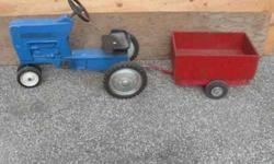$150 Peddle Tractor. Made by Ertl Co.