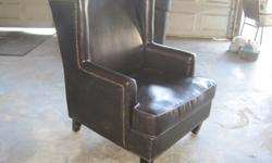 $150 wing back chair