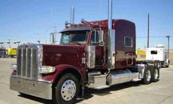 $151,000 2013 Peterbilt 389 Tandem Axle Sleeper