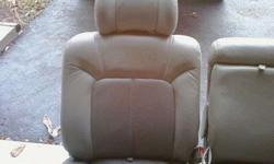 $155 Gmc Leather Back Row Seating (Maysville)