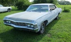 $15,000 1967 Impala 4 door Hardtop NO POST 67 Chevrolet
