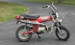 $15,000 nice honda trail 70 1969 original parts