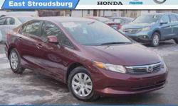 $15,240 2012 Honda Civic Sdn LX