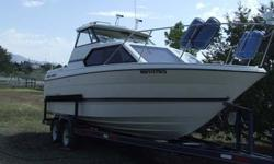 $15,900 1995 24? Bayliner 2452 Cabin Cruiser