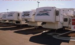 $15,995 2001 to 2007 Keystone Montanas for sale.