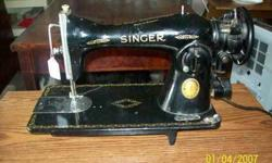 $15 Antique Singer Sewing Machine~Canada