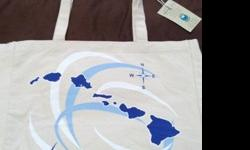 "$15 BRAND NEW! Eco Friendly-Large ""Hawaiian Islands"" Tote"