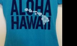 "$15 BRAND NEW! Women's/Junior ""ALOHA HAWAII"" T-Shirt"