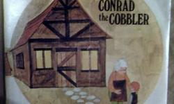 $15 CONRAD the COBBLER Book and Record (c1974)