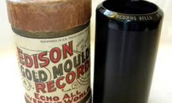 $15 Edison Phonograph Record Cylinder #9739 VAUDEVILLE -