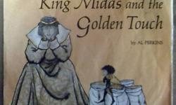 $15 King Midas and the Golden Touch 33 1/3 RPM Record