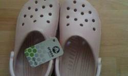 $15 New Light Pink...Crocs..Authentic.