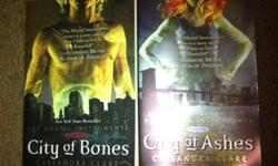 $15 OBO City of Bones and City of Ashes, First Two Books of
