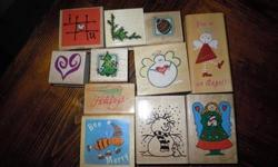 $15 Rubber Stamp Sets