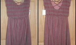 $15 Stripped Charlotte Russe Dress New!