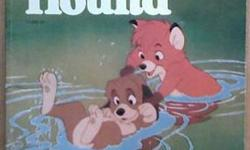 $15 The Fox and the Hound Storybook - Walt Disney