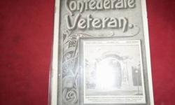$15 Vintage Confederate Veteran magazine from 1913