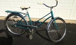 $160 1963 Sears Murray Women's Spaceliner Bike