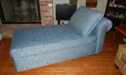 $165 Upholstered Chaise Chair
