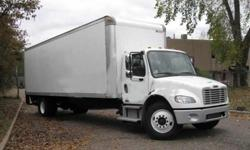 $16,000 2007 freightliner m-2 26 ft box truck