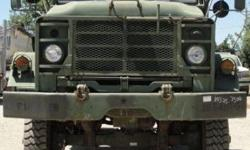 $16,500 1983 US Army M941 Tractor
